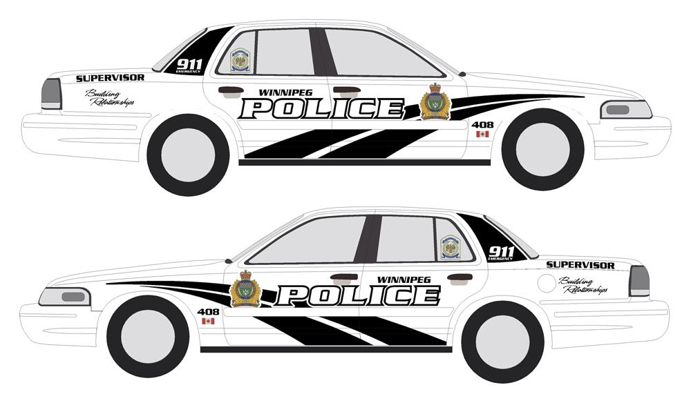 Winnipeg Police Cars To Sport A New Colour And Logo